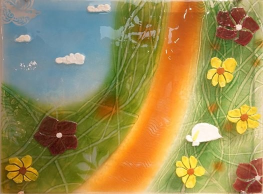 Fused Glass Paste Work Wall Art Class