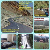 7 Days Family Tour from Karachi to Kaghan Shogran &amp Kashmir