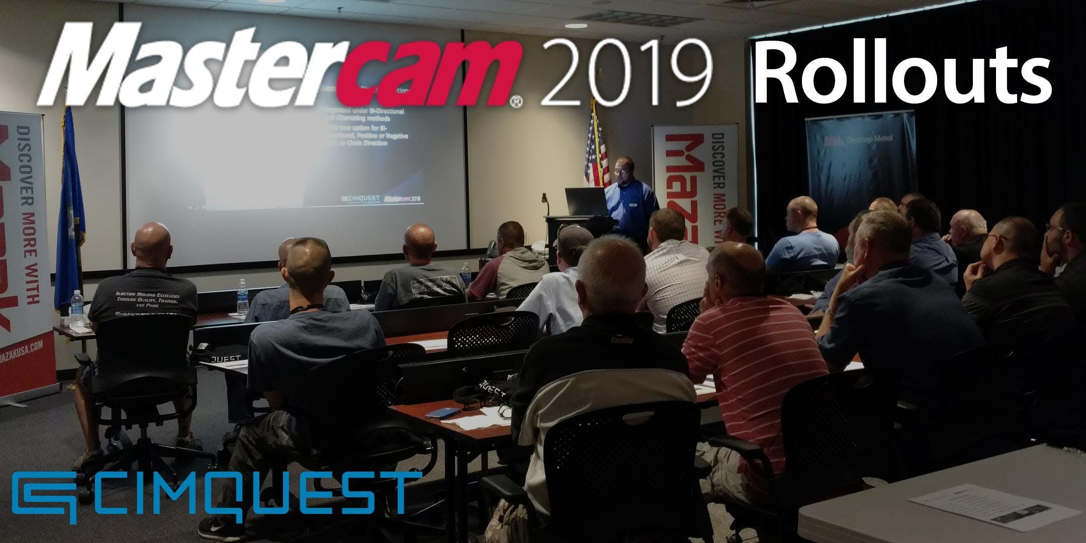 Mastercam 2019 Rollout - Dublin VA