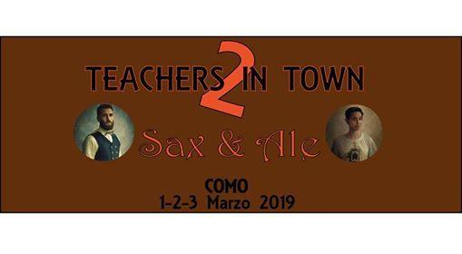 2 Teachers in Town Swing Festival  Sax & Ale