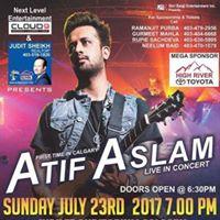 Atif Aslam Live in Concert Calgary AB