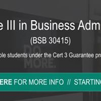 Certificate III in Business Administration (BSB30415)
