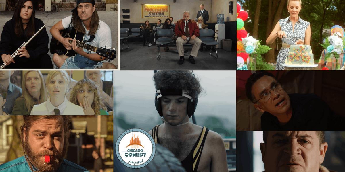 CHI COMEDY FILM FEST  The American Bad Dream Shorts Program 800pm