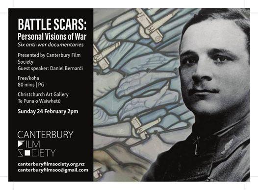 Film screening Battle Scars - Personal Visions of War