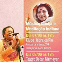 Meditao Dana e Msica Indiana - Entrada Gratuita