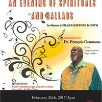 An Evening of Spirituals and Ballads featuring Francois Clemmons