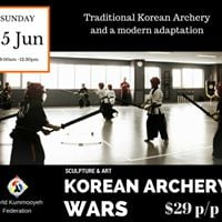 Korean Archery Seminar with Grandmaster Jang