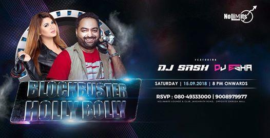 Blockbuster Holly-Bollywood Ft. DJ Sash & DJ Esha