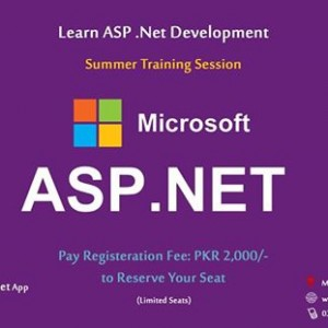 Asp.Net Summer Training Session (Become a Asp.Net Developer)