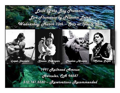 Live Flamenco by Primera Letra