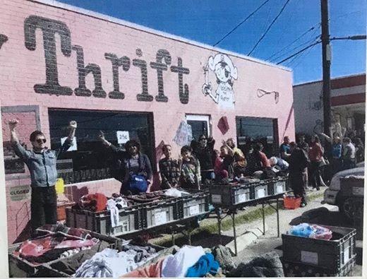 Treasure City Thrift December 25 Cent Sale