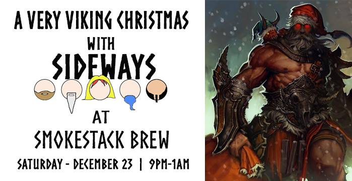 a very viking christmas with sideways at smokestack brew mishawaka - Viking Christmas