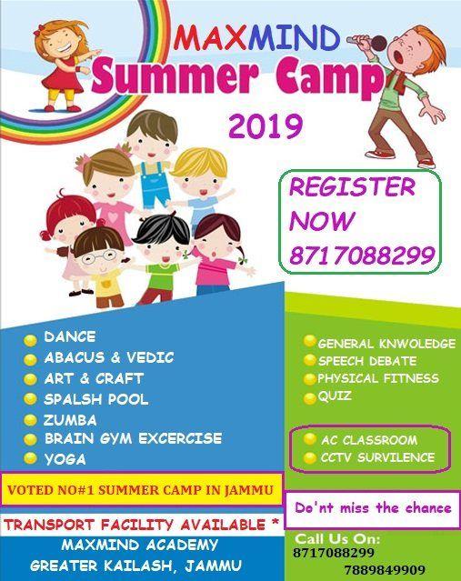 Maxmind Summer CAMP 2 0   Jammu