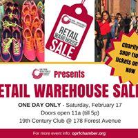 Retail Warehouse Sale