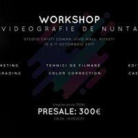 Workshop videografie de nunta Cristi Coman si Vasea Onel