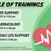 ACLS BLS &amp EKG Trainings (Nov. 16 18-19 2017)