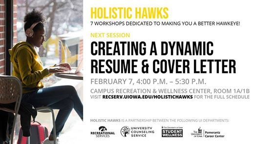 Holistic Hawks: Creating a Dynamic Resume & Cover Letter at ...
