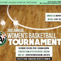 MAP Womens 3rd Annual Basketball Tournament