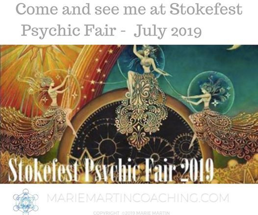 Marie Martin at Stokefest Psychic Fair