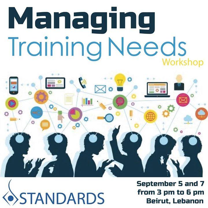 Managing Training Needs Workshop