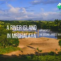 Beach camping in the second largest river island Meghalaya