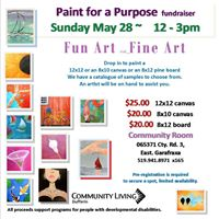 Paint for a Purpose paint date
