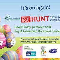 2018 RHHRF Easter Egg Hunt &amp Family Picnic Presented by RACT