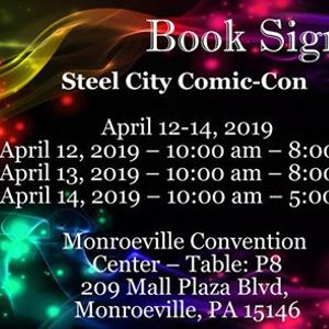 Steel City Comic-Con Book Signing