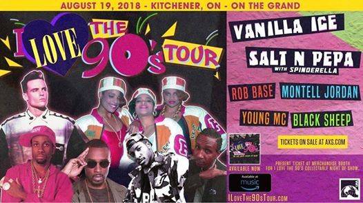 I Love 90s Tour at On The Grand