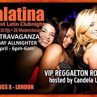 VIP Reggaeton Room hosted by Candela UK - part of scalalatina