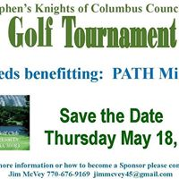 St. Stephens Knights of Columbus Golf Tournament benefiting PATH