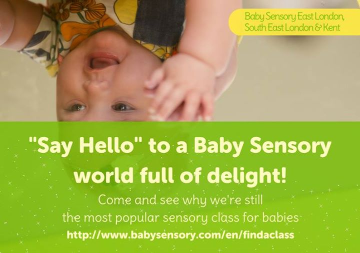 Baby Sensory Winter Term 2018 is now open for bookings