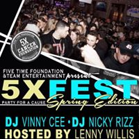 Five Time Cancer Foundation presents 5X FEST Spring Edition