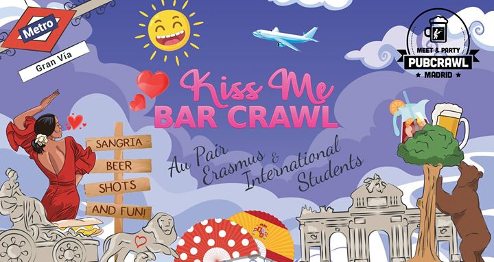 Kiss Me Bar Crawl