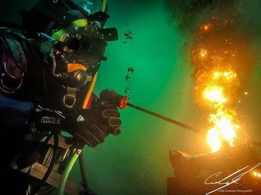 DCBC Unrestricted Surface SUPPLY Diver  Underwater Welder