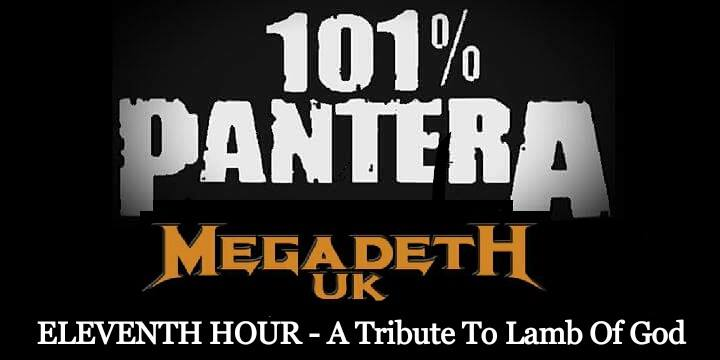 101% Pantera  Megadeth UK at The Underworld Camden