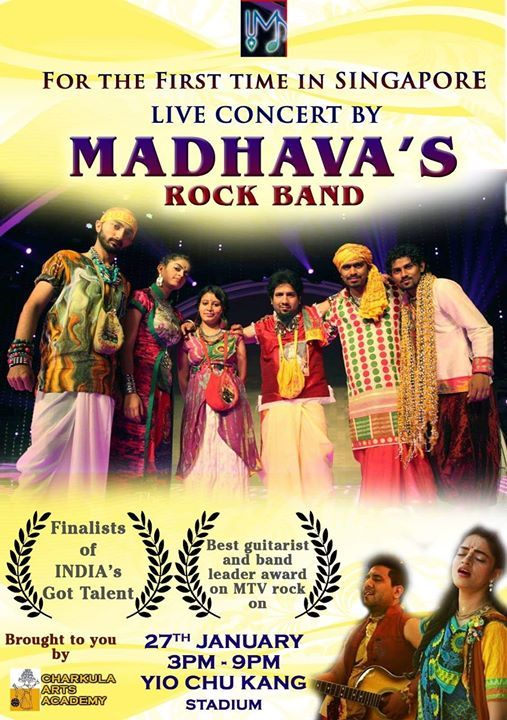 Madhavas Rock Band LIVE in SINGAPORE