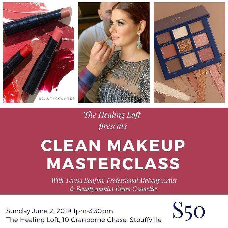 Clean Makeup Masterclass with Teresa Bonfini at The Healing Loft