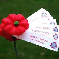 Distributing Buddy Poppies