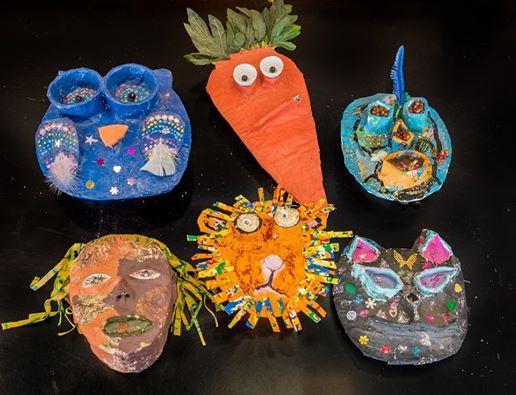 Papier Mch Masks