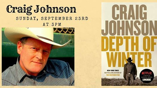 Craig Johnson At Country Bookshelf