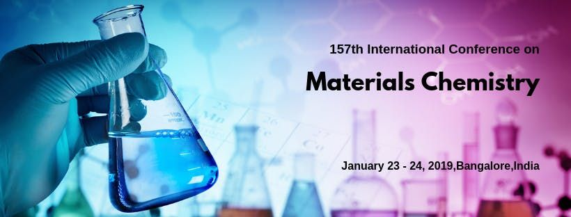157th International Conference on Materials Chemistry