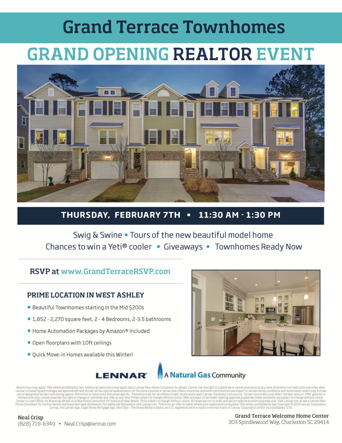 Grand Terrace Realtor VIP Grand Opening Event