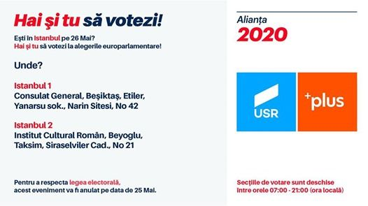 Romnii din Istanbul voteaz la alegerile europarlamentare