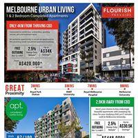 Melbourne urban living - enduringly beautiful apartments