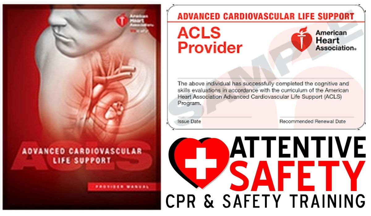 Acls Provider At Attentive Safety Cpr And Safety Training Miami Springs