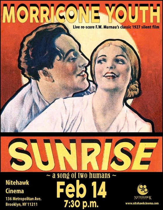 Morricone Youth Live Scores F.W. Murnaus  Sunrise (1927)