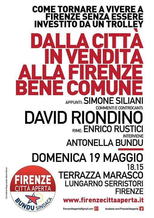 David Riondino Dalla Città In Vendita A Firenze Bene Comune