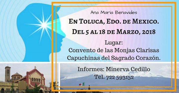 Ana Maria Benavides en Toluca Marzo 2018