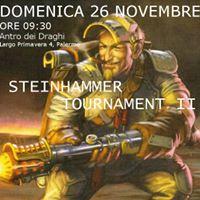 Warmachine &amp Hordes - Steinhammer Tournament II